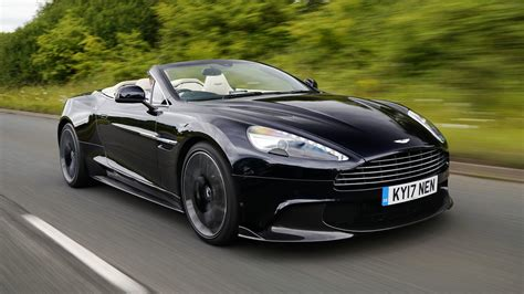 2018 aston martin vanquish s volante first the final encore