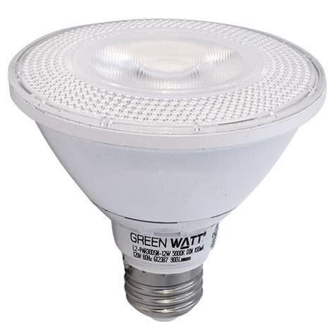 recessed lighting green watt g l2 par30dsn 12w 5000k led
