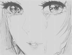Sad Girl Drawing Tumblr Anime Drawing Tumblr Girl ...