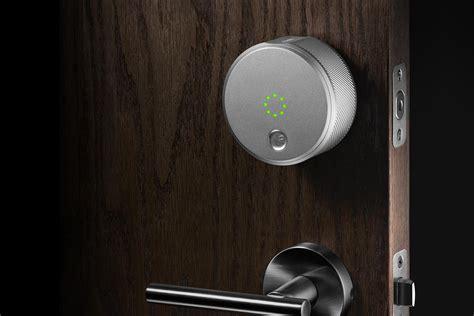 smart home door lock august smart lock review digital trends
