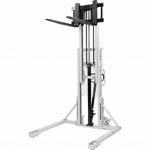 Strongway Manual Pallet Stacker  U2014 2200