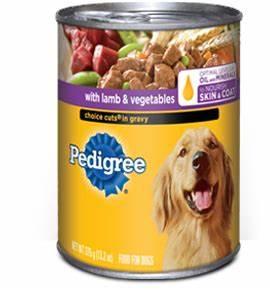 CVS: Pedigree Canned Dog Food for $0.53   Coupon Karma