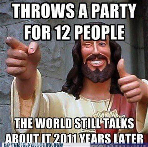 Buddy Christ Meme - by beckett march 2012