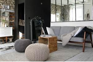 Canapé Scandinave Ikea : un salon scandinave minimaliste et chaleureux le canap ekenaset ikea les poufs en grosse ~ Teatrodelosmanantiales.com Idées de Décoration