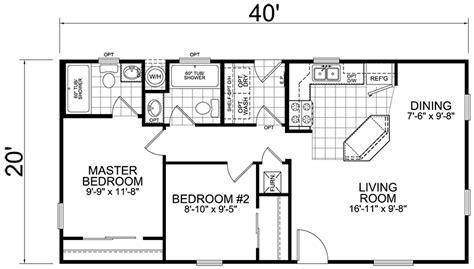 Second Unit: 20 x 40: 2 Bed, 2 Bath, 800 sq. ft.   Little