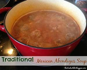 Traditional Mexican Abondigas (Meatball) Soup Recipe