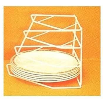 corner plate stacker plate stand amazoncouk kitchen home