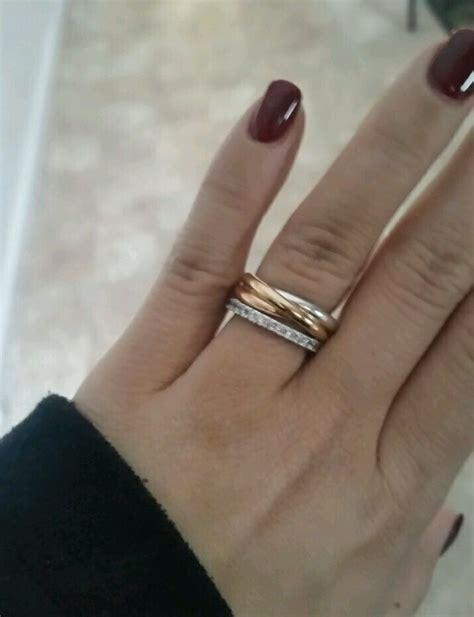cartier trinity ring weddingbee jewels cartier