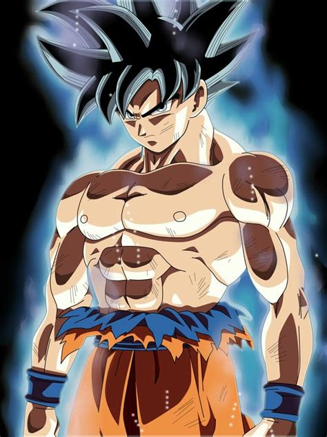 goku limit breaker personagens de anime