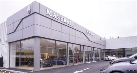 Hr Owen Opens Maserati Centre In Stockport