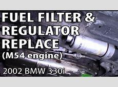 BMW 330i 325i E46 Fuel Pressure Regulator Replacement M54