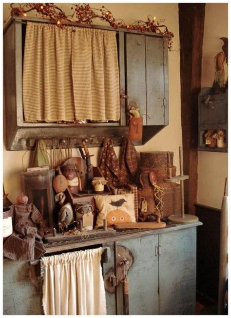 Primitive Kitchen Decorating Ideas by 35 Beautiful And Cozy Fall Kitchen Decor Ideas Family