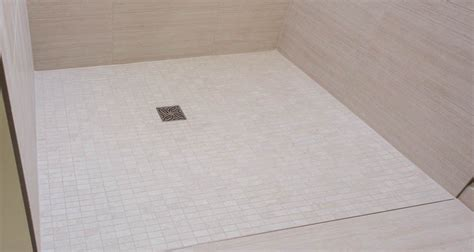 shower renovation curbless  threshold shower