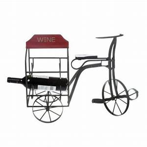 tricycle wine bottle holder antique styl iron wood bike With best brand of paint for kitchen cabinets with antique cast iron candle holders