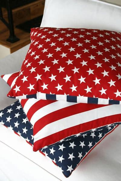 american flag pillow happy 4th of july patriotic design ideas