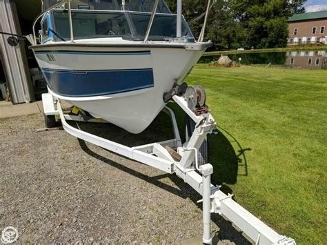 Used Aluminum Boats For Sale In New York by 1992 Used Starcraft Islander 191v Aluminum Fishing Boat