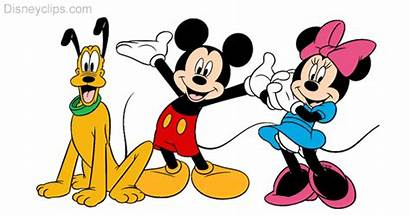 Mickey Minnie Clipart Mouse Friends Clip Disney