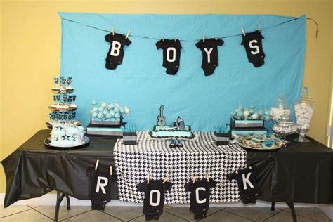 boys rock baby shower ideas photo 1 of 13 catch my
