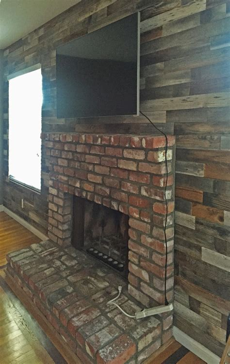 reclaimed wood wall paneling diy assorted   boards