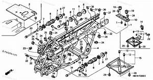 Honda Atv 1997 Oem Parts Diagram For Frame