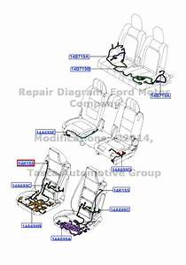 New Oem Lh Front Seat Side Air Bag Wiring Harness Ford