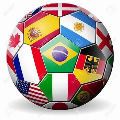 Soccer Cup Clipart Football Teams Brazil Ball