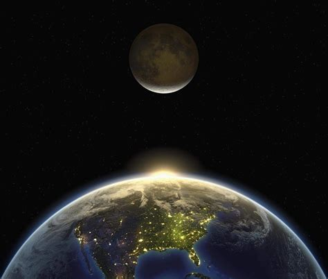 Earth's 'attraction' is causing the Moon to shrink
