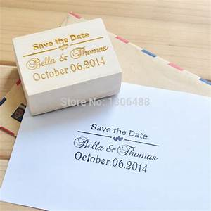 personalized wedding stamp wood stamp wedding invitation With custom wedding invite stamps