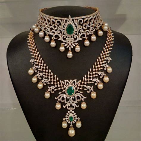 traditional gold jewelry set designs  marriage