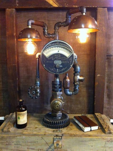 Sarah Lamp by Steampunk Lamp Industrial Art Machine Age Light Steam