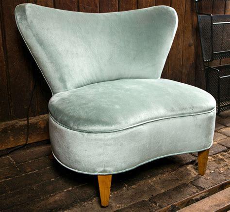 mid century modern slipper chair at 1stdibs