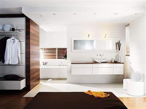 chambre avec salle de bain ouverte et dressing aménager la salle de bains galerie photos d 39 article 6 11