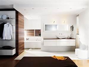 Petite Salle De Bain Ouverte Sur Chambre : am nager la salle de bains galerie photos d 39 article 6 11 ~ Melissatoandfro.com Idées de Décoration