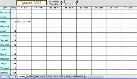 modèle de planning de travail modele planning horaire de travail ccmr