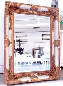 Wandspiegel Groß Ohne Rahmen : exklusiv spiegel antik weiss wandspiegel gross barock rahmen spiegel ebay ~ Bigdaddyawards.com Haus und Dekorationen