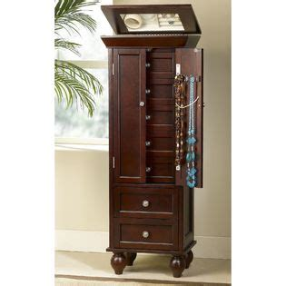 Sears Jewelry Armoire by Jewelry Armoire Espresso Finish Home Furniture