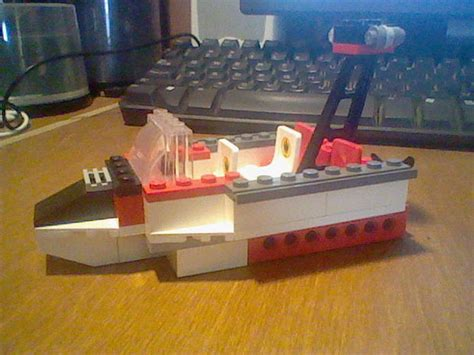 Lego Boat Step By Step by Lego Boat 4 Steps