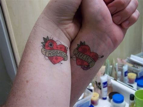 vipderoos tattoos  couples  love designs