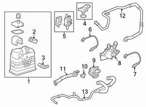 2013 Chevrolet Equinox Check Valve  Secondary Air Injection Pump Check Valve  Calif  Buick