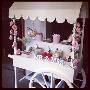 How to Decorate Wedding Candy Cart Ideas – WeddCeremony Com
