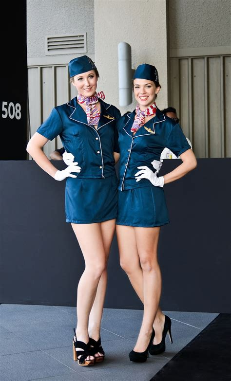 Peugeots Stewardess Costume In Public ~ World Stewardess Crews