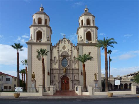 Tucson, AZ St Augustine Cathedral | The Cathedral of St ...