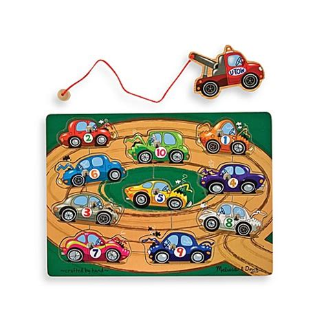doug 174 tow truck magnetic puzzle bed bath beyond
