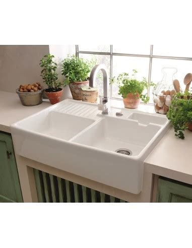 white ceramic kitchen sink 6323691r1 villeroy boch butler 90 ceramic belfast 1274