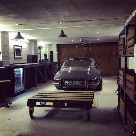 porsche garage decor 25 kreative ideen zum thema garage hobbyraum zum