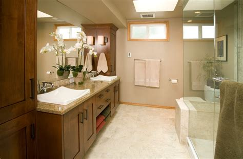 Medium Sized Bathroom Designs Redmond Medium Master Bathroom Remodel Traditional