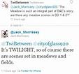 Jack Morrissey Tweets a Few Breaking Dawn Secrets ...
