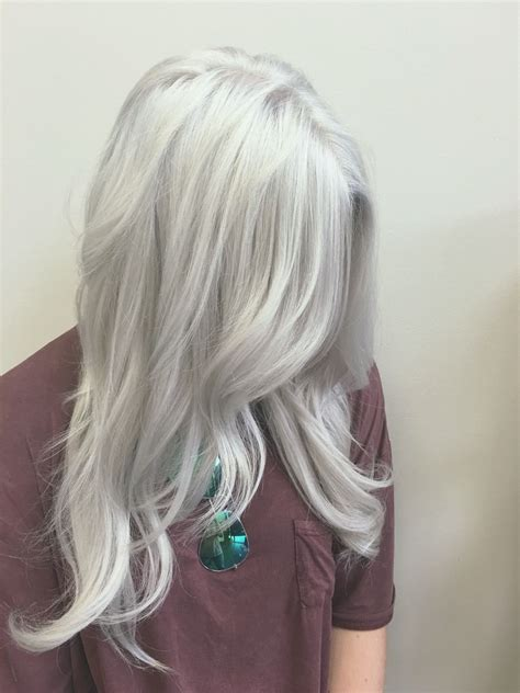 Silver Hair White Hair Gray Hair Old Lady Hair Color