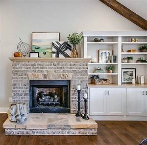 Gorgeous Fireplace Inspiration With Modern Farmhouse Details