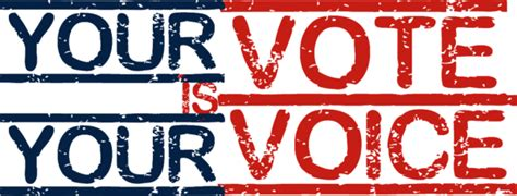 Your Vote, Your Voice Mic